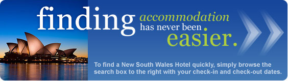 finding New South Wales accommodation has never been easier